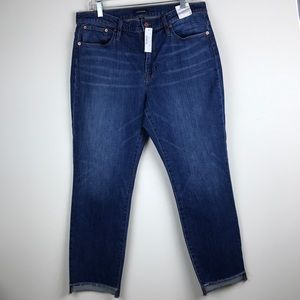 J. Crew Slim Broken-in Boyfriend Jean w/ Step Hem